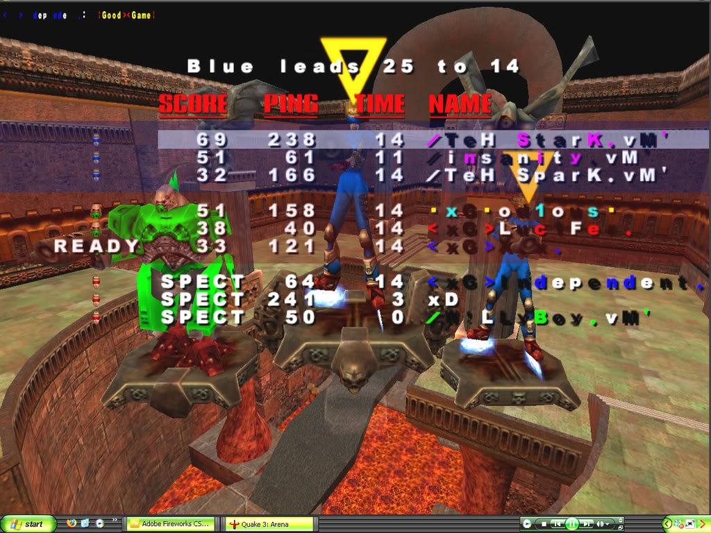 Back to Quake? VMScrim55