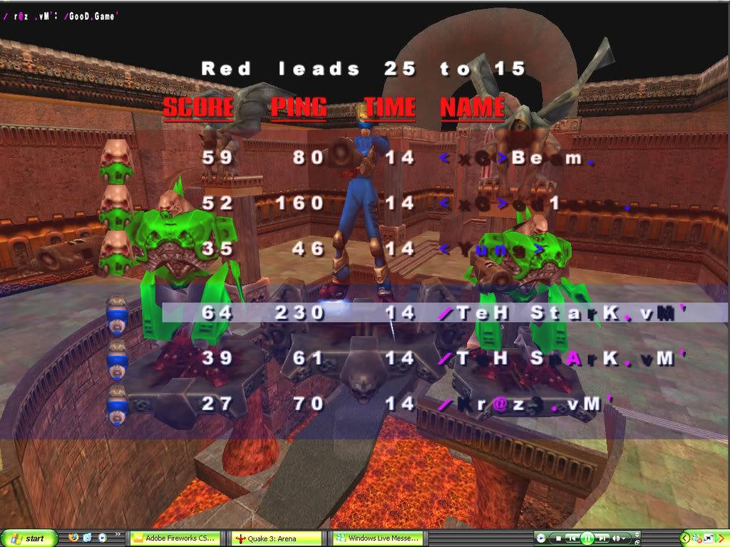 Back to Quake? VMScrim57