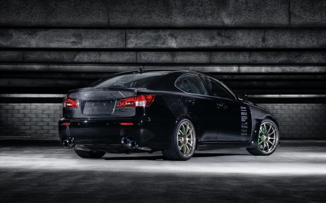 [A-850] 5 Axis Lexus IS 350 (Top 100) ISF