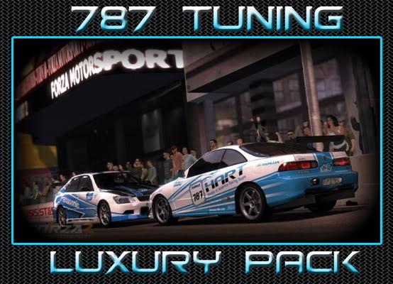 [A-850] Luxury Pack (Acura Integra R + Lexus IS 300) LUXURYbanner