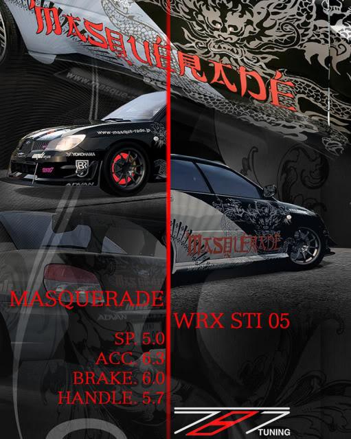 [A-850] 05 Subaru WRX STI Masquerade Edition (Sold Out) ForzaSubaruSTI
