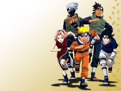 my fav show on television!!!!!!!!! NarutoSasukeSakuraKakashiIruka-Naru