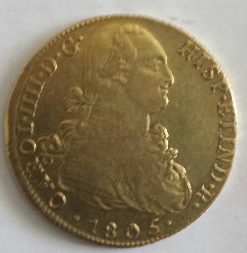 8 escudos Carlos IV. Lima. 1805.  2014-04-19140703_zpsb952d68d