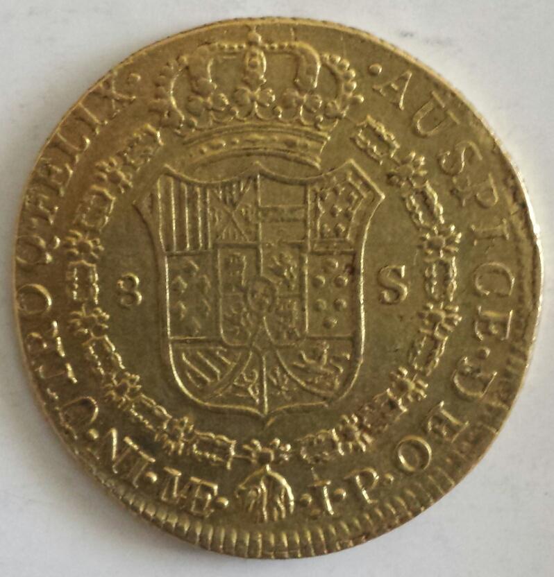 8 escudos Carlos IV. Lima. 1805.  2014-04-19140742_zps8c0a9db0
