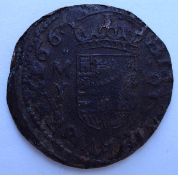 16 maravedis 1663. Felipe IV. Madrid. 16Maravedis166FelipeIVMadridR_zps8002e7a9