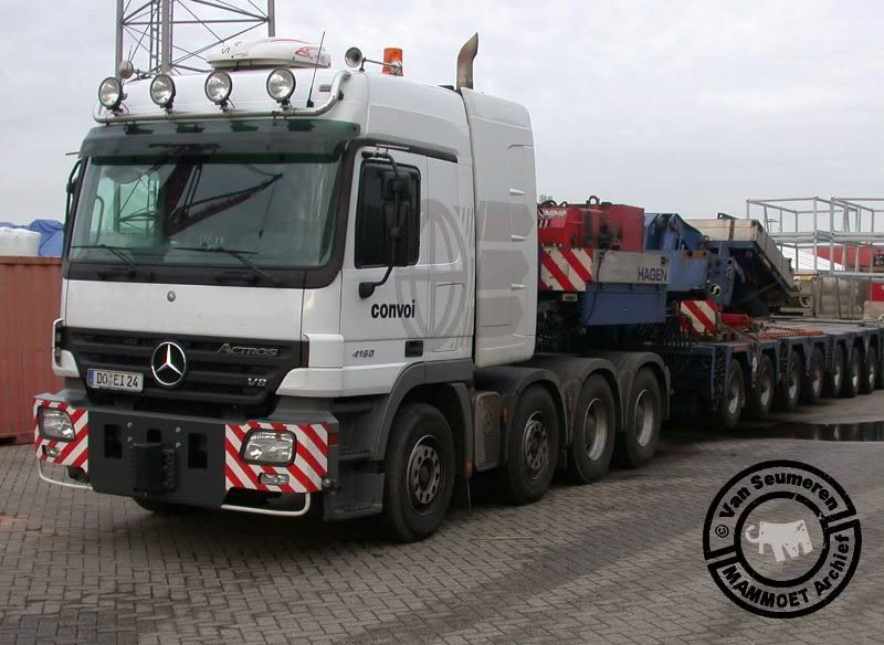 100 656, Mercedes Benz Actros 4160 SLT 100656mb-exconvoigermany