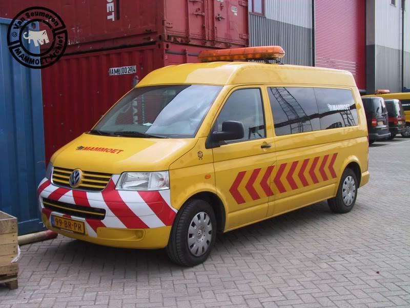 401 785 Volkswagen T-5 begeleiding 401785-akopie