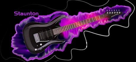 Guitar Sig Neon Glows GuitarBlackcopy