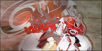 Carolina Hurricanes . CamWardSig