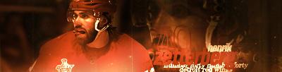 Detroit Red Wings.  HenrikZetterberg