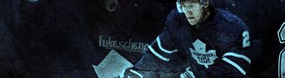 Toronto Maple Leafs.  LukeSchenn-1
