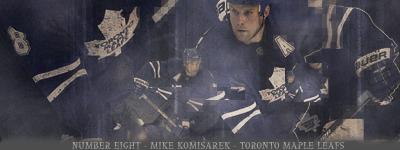 Toronto Maple Leafs.  MikeKomisarek