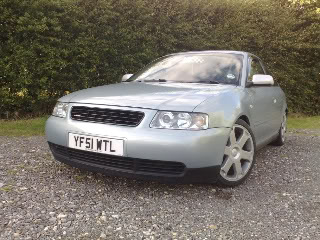 Rudaz Audi A3 - smoothed bumper!! 08072008344-1