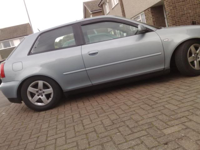 Rudaz Audi A3 - smoothed bumper!! 18052008208