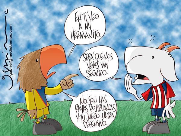America vs Chivas 10/25/2009 Gabriel-casi-un-hermano-20091025