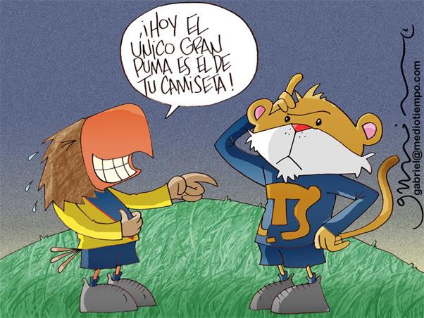 Previo Pumas vs America Gabriel-el-gran-puma-20091105