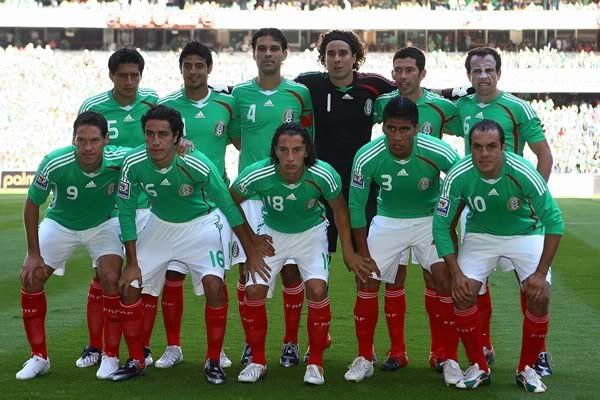Antes de Sudáfrica 2010, el Tri tendrá 12 encuentros Seleccion-mexicana-1