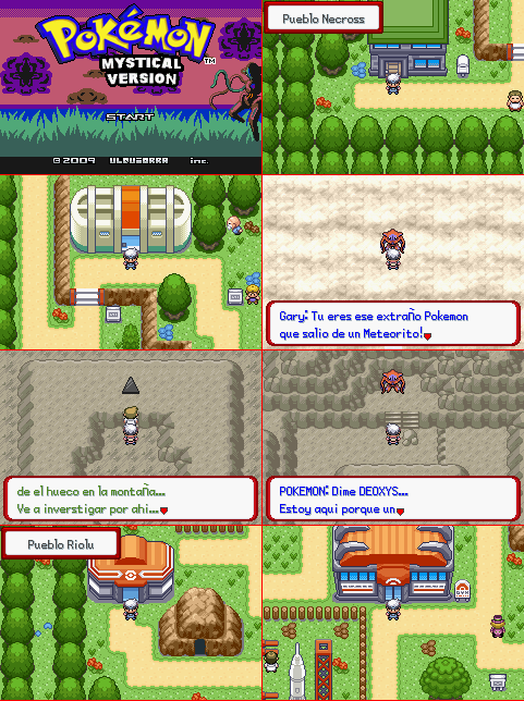 Pokemon Mystical Version [Gba] [Ingles & Español] Imagenes-12