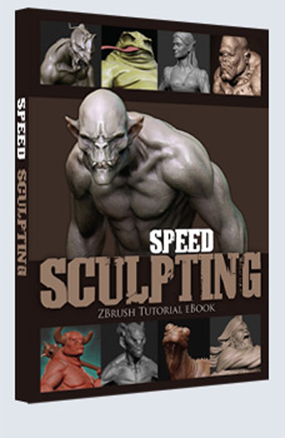 3Dtotal Speed Sculpting - ZBrush ebook with DVD 391c87c19110713ca4f8e05b2c09e116