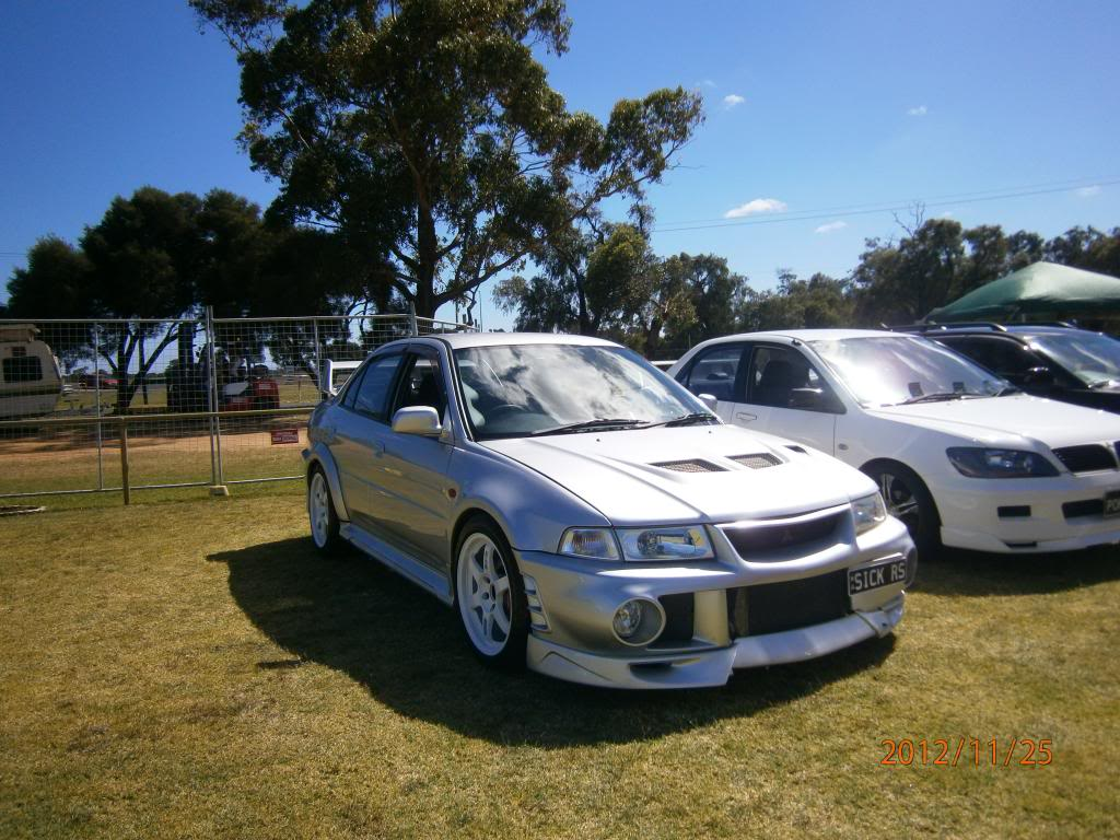 My other car Evo 6 gsr.. Bussomotorfest063