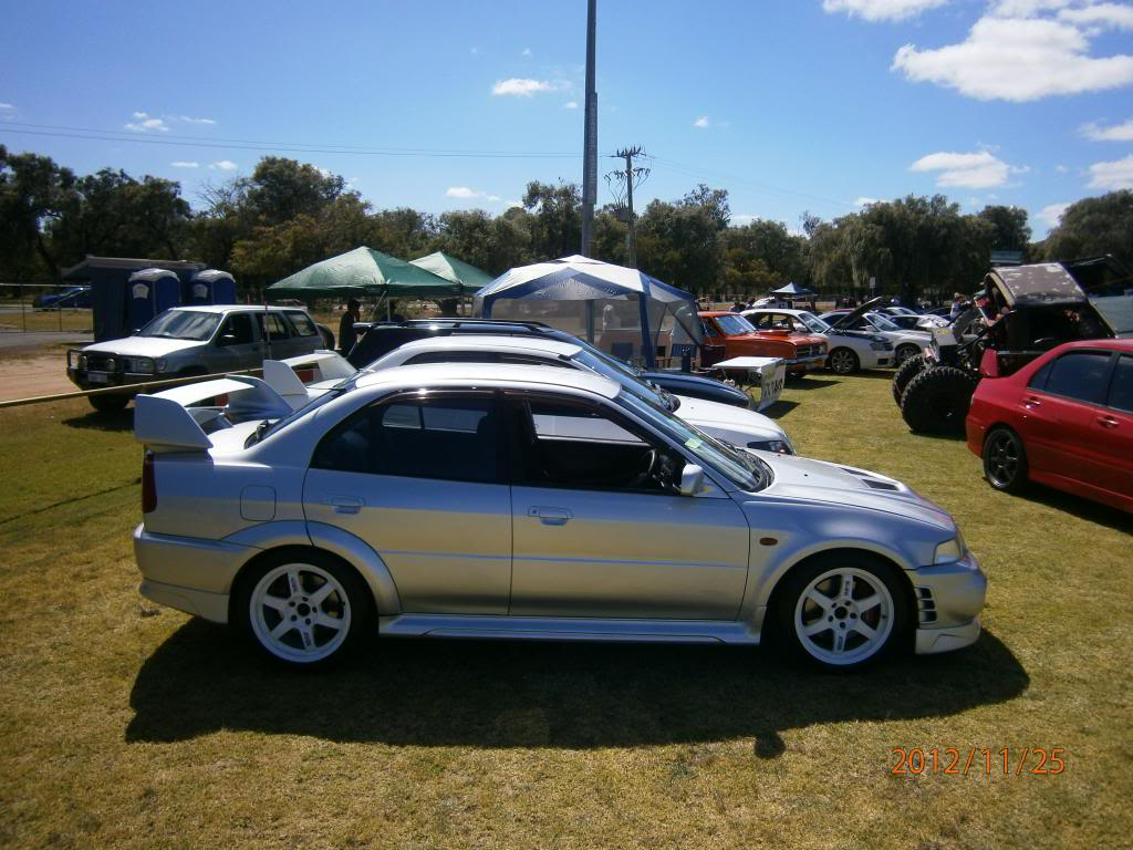 My other car Evo 6 gsr.. Bussomotorfest070