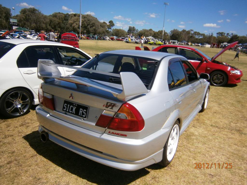 My other car Evo 6 gsr.. Bussomotorfest090