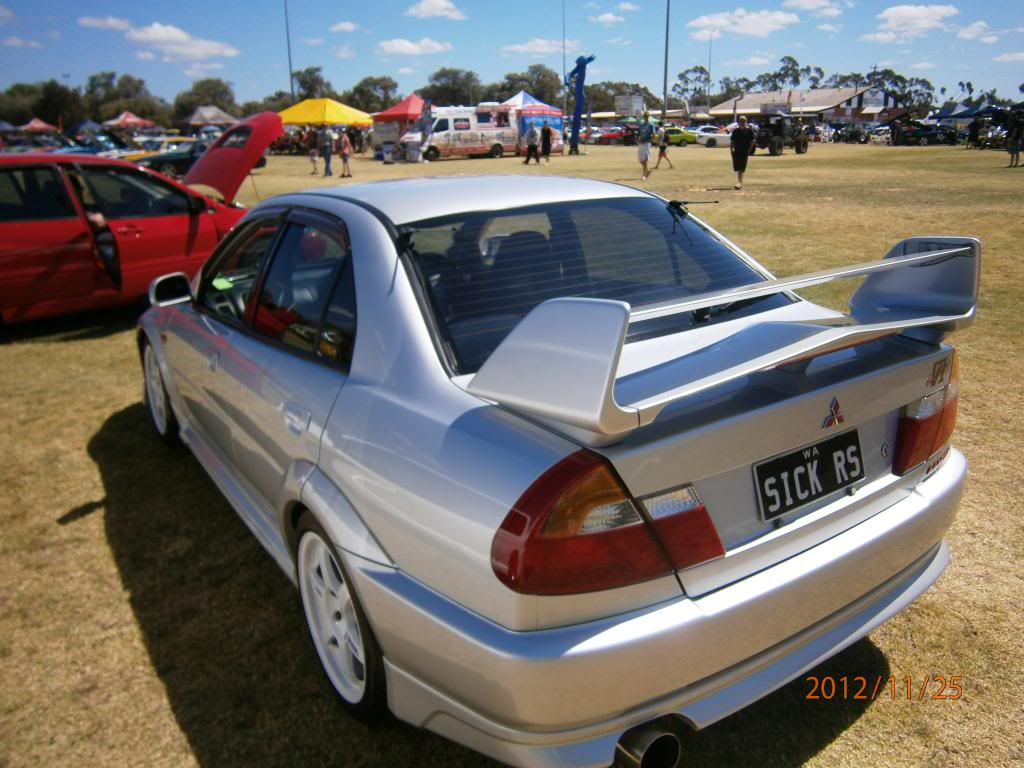 My other car Evo 6 gsr.. Bussomotorfest091