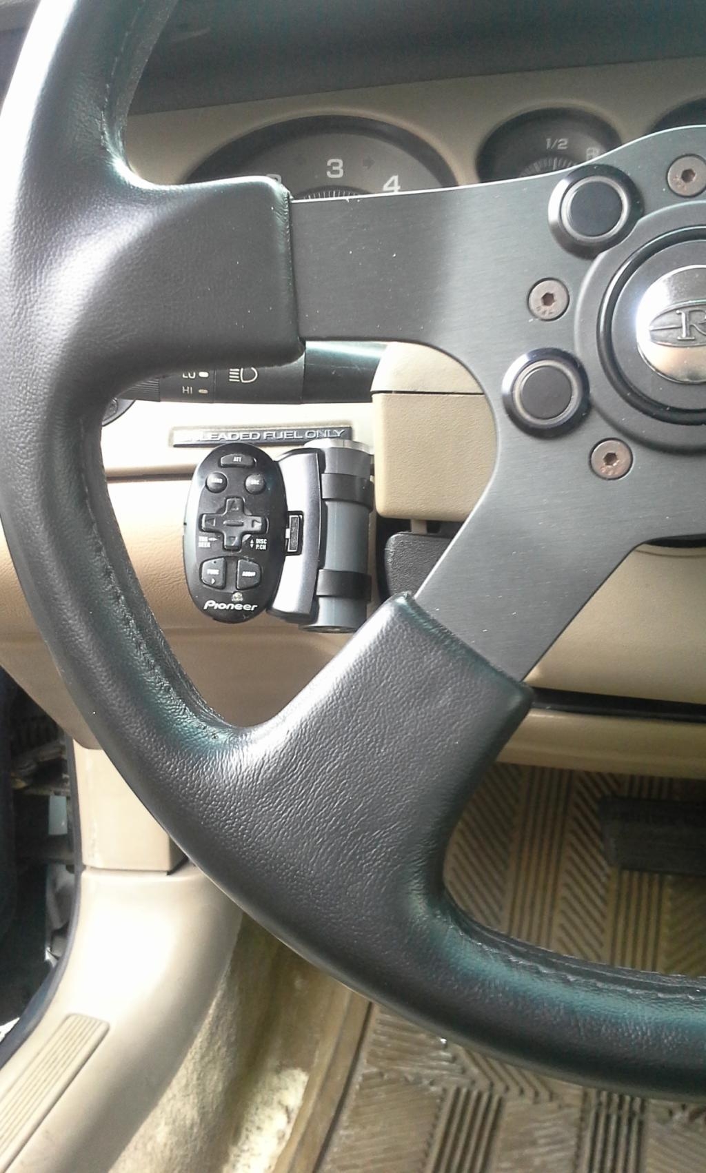Steering wheel audio control 20150131_134518