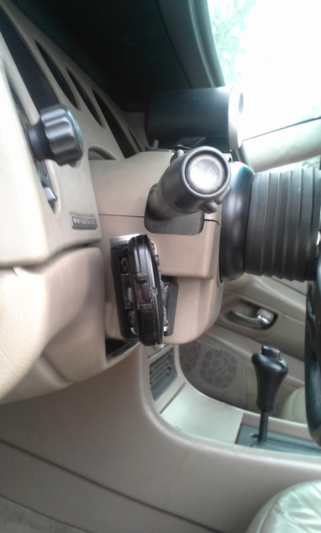 Steering wheel audio control 20150131_134529