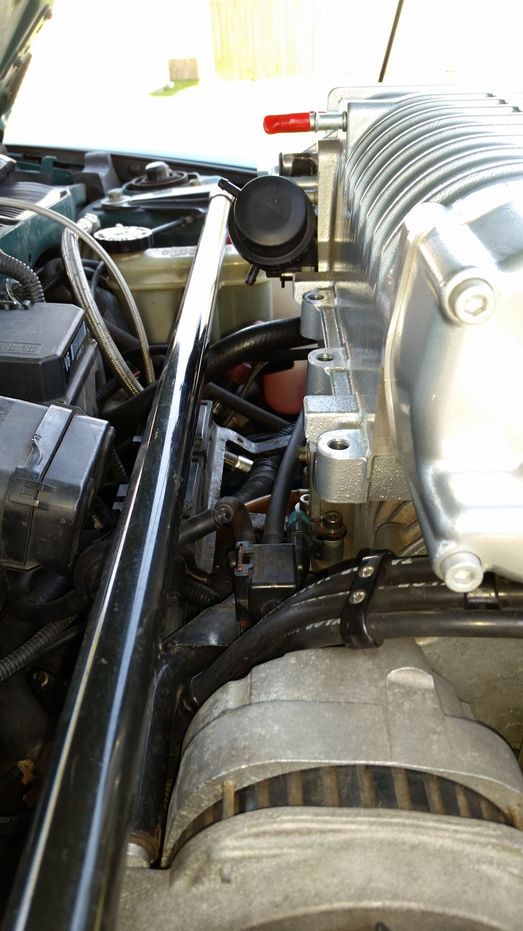 FGT supercharger swap project 20150501_130238