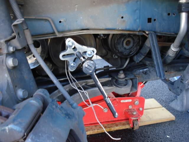 Write-Up: Removing the Crank Pulley/Harmonic Balancer DSC02092