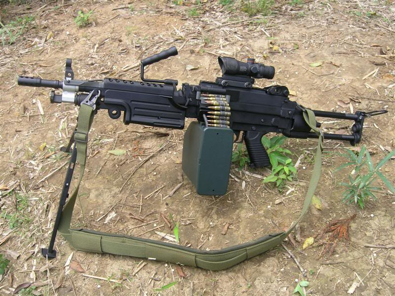 The A&K M249 (SAW) 21