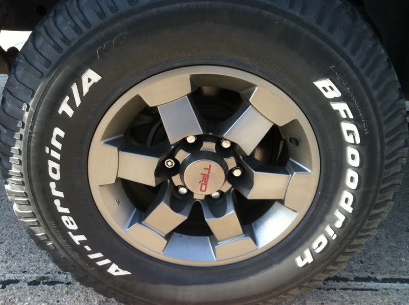 Anthracite TRD Wheels 2be3c06a