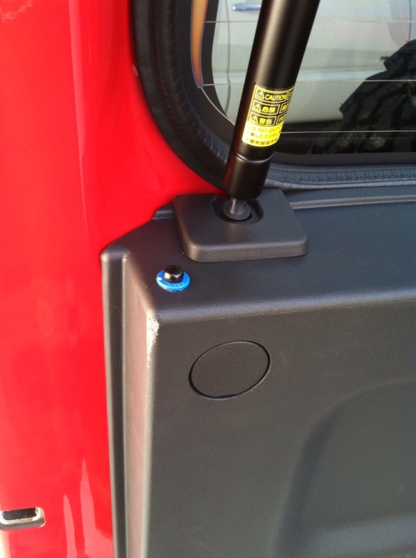 Rear Glass Release Button - Pic Heavy 8861c031