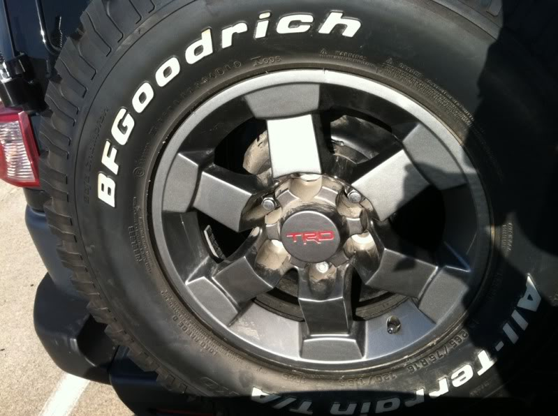 Anthracite TRD Wheels A40c8ca3