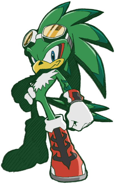 Sonic The Hedgehog And The Adventure Of Power! Jet_SR