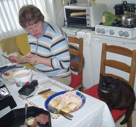 Zwarte kat Niels P1030750