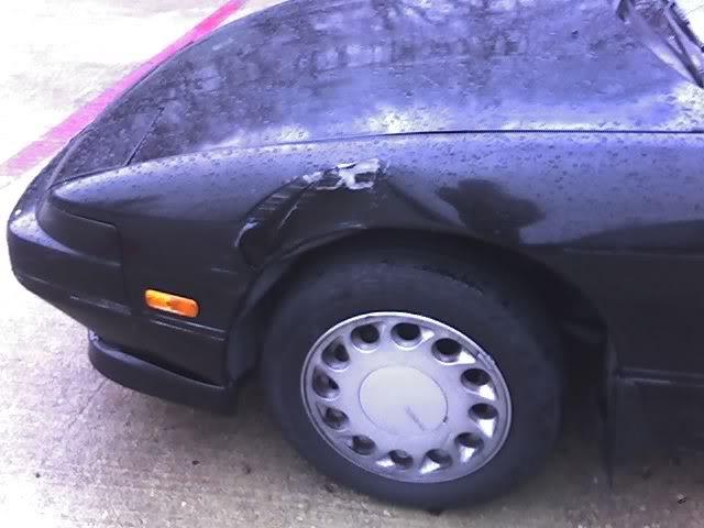 So I got hit today..... Car