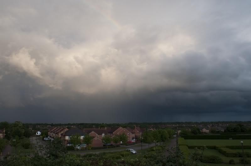 Tuesday 8th June, sharp showers across Midlands DSC_0003