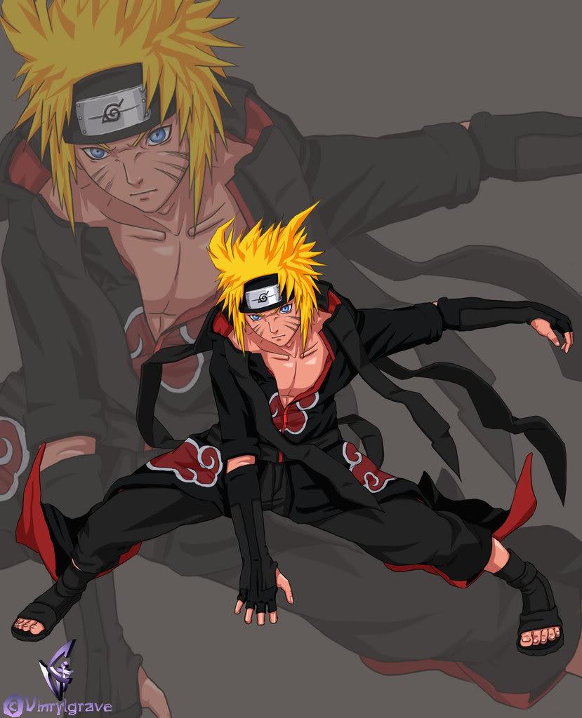 Naruto Uzumaki AKatsuki_member