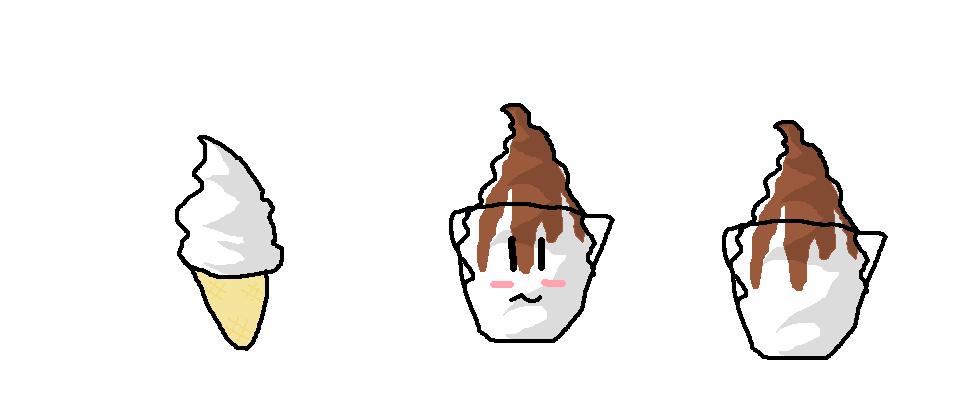 Mis dibujos! >.< Icecream
