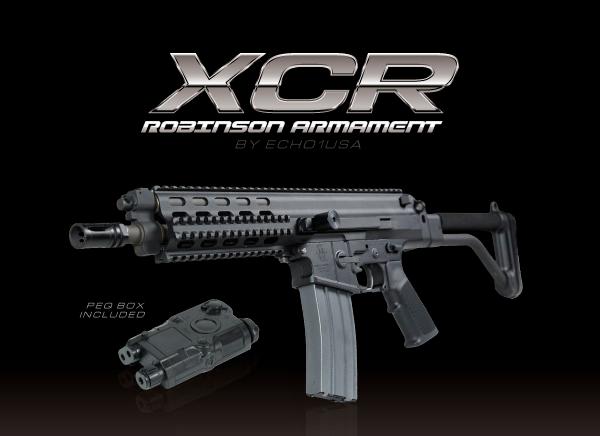 Echo1 - Robinson Armament XCR Xcr