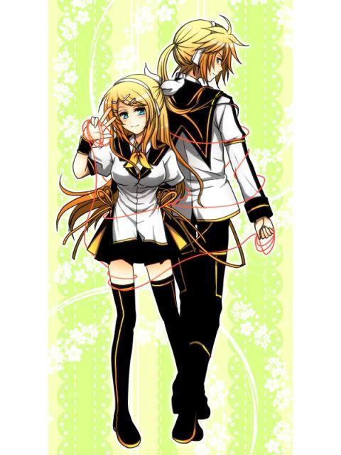 Len Shion and Seiya Shion[WIP] KagamineLenandRin