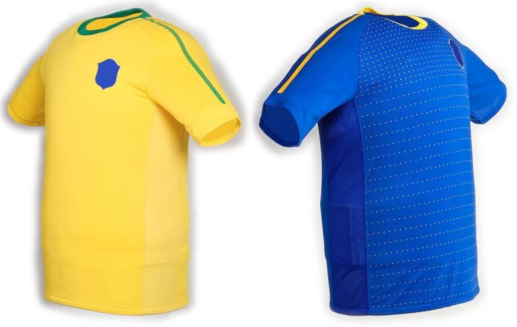 Maillots internationaux (World Cup 2010) Brasildesigns