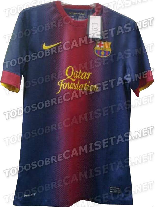 Nueva camiseta del Barcelona. (2012/2013) Barza2012