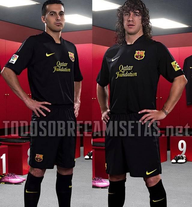 NUEVAS EQUIPACIONES BARCELONA 2011-2012 Barcelona1112suplente2