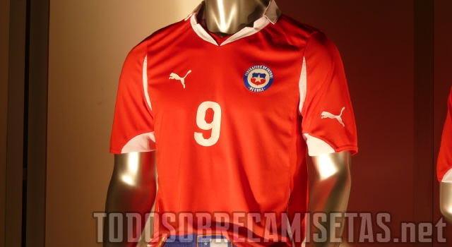 Copa del Mundo Brasil 2014 - Página 4 Camisetachileintro