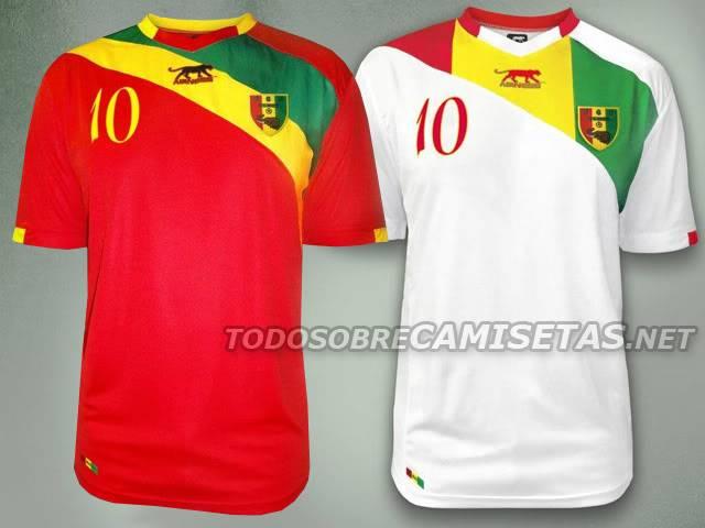 XXVIII Copa Africana de Naciones Gabón y Guinea Ecuatorial 2012 Guinee12
