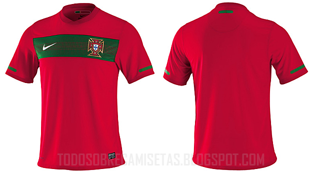 Maillots internationaux (World Cup 2010) - Page 2 PortugalFirst