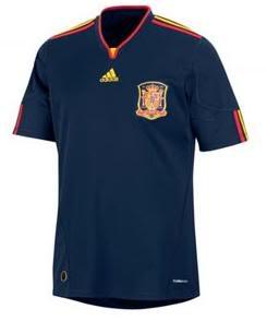 Maillots internationaux (World Cup 2010) Espanhaleak